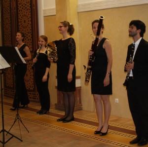 Pasu Quintet taking a bow