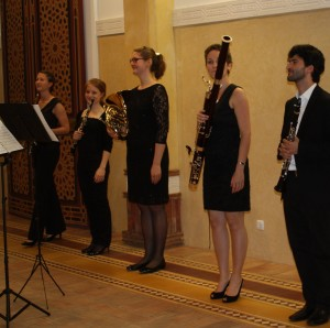 Pasu Quintet taking a bow