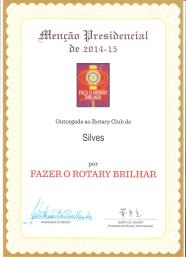 Certificate Rotary 001
