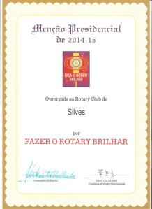 Certificate Rotary 001