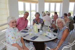 Stewart and Linda with Friends from Castelo de Sonhos