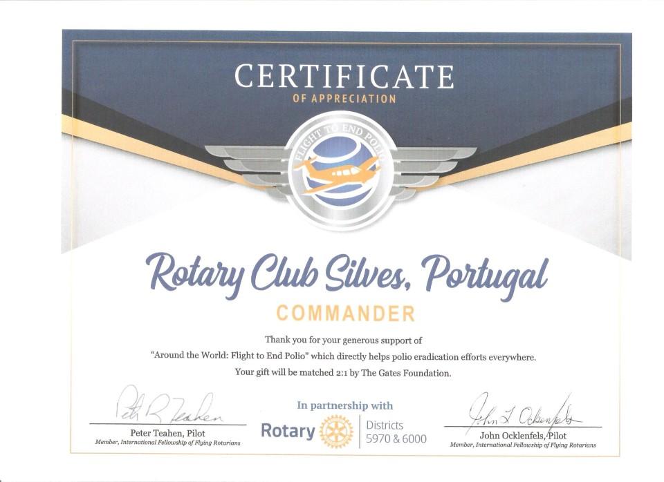 Certificate of Appreciation 001